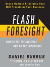Flash Foresight (MP3): How to See the Invisible and Do the Impossible
